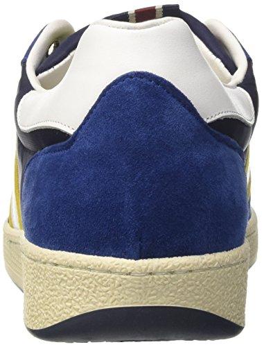 D'Acquasparta Ghiberti, Sneakers basses homme Blu (Blu/Giallo)