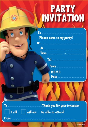 fireman-sam-feste-inviti-confezione-da-20