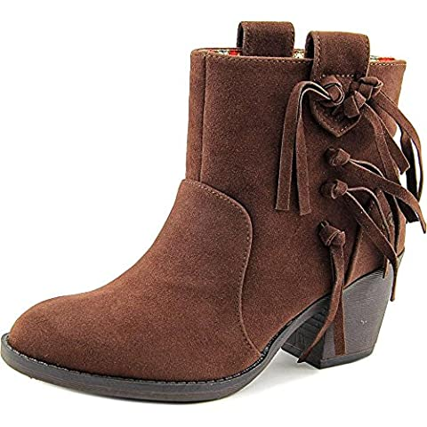 Rocket Dog Stassi Saloon Women US 8.5 Brown Ankle Boot