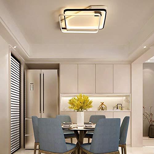 YAYONG Lámpara de la Sala de Estar Lámpara Moderna Moderna de la lámpara del Techo Lámpara casera del Dormitorio Iluminación de Moda,dimming,70 * 70cm