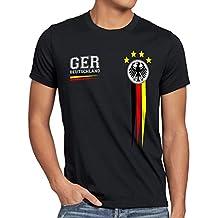 style3 Deutschland Herren T-Shirt Germany Fußball Weltmeisterschaft Trikot WM 2018