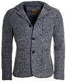 Young&Rich Herren Sakko Übergangs-Jacke Wolle Filz Blazer Trachtenjacke grau, Grösse: XL