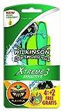 Wilkinson Sword Xtreme 3 Sensitive Einwegrasierer Einmalrasierer, 4 + 2 St
