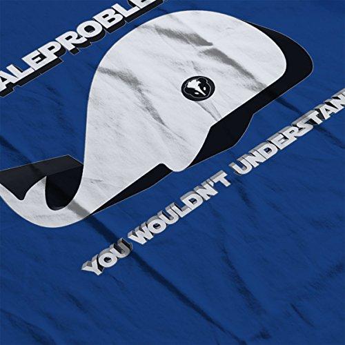 Whale Problems Star Wars SWGOH Women's Sweatshirt Royal Blue