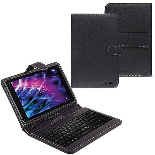 Tastatur für Medion Lifetab P10606 P10602 X10605 X10607 X10311 P9702 X10302 P10506 P10505 P10356 P10326 P10400 Schutzhülle Tasche Hülle Keyboard Case