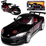 alles-meine GmbH Honda S2000 Schwarz Johnny Fast & Furious The Fast and The Furious 1/24 Jada Modell Auto