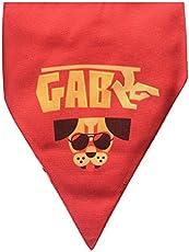 Lana Paws Gabru Dog Bandana with Easy To Use Adjustable Strap - Large