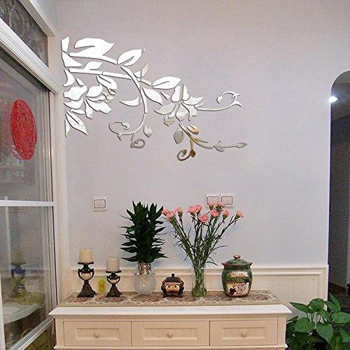 Odjoy-fan decorazione moderna degli autoadesivi dell'adesivo acrilico della parete diy 3d-adesivi moderni parete di diy decorazione acrilica 3d della casa di decalcomanie della casa di stile di vita