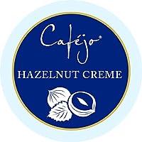 Cafejo K-Cups, Hazelnut Crème Coffee, 50 Count