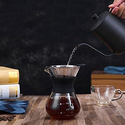 Oumosi-hitzebestndige-Glas-Kaffeekanne-Espressomaschine-mit-Filter