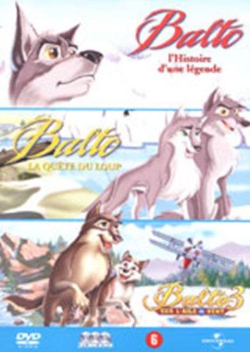 Balto 1 / 2 / 3 - 3 DVD [Import belge]