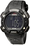 Timex Herren-Armbanduhr XL Full Pusher Shock CAT Digital Resin T49896SU