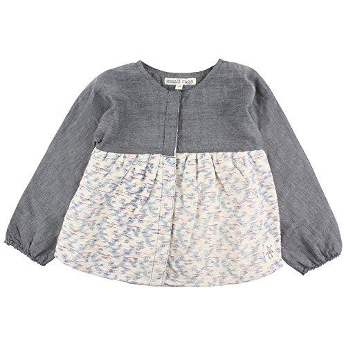 Small Rags Baby-Mädchen Bluse Ella LS Top, Mehrfarbig (White Peach 02-39), 74 Preisvergleich