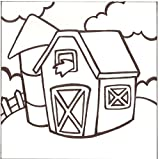 PaintaDoodle 12 x 12 Barn Canvas Paintin...