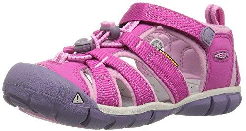 Keen Unisex-Kinder Seacamp II CNX Sandalen Trekking-& Wanderschuhe, Pink (Very Berry/Lilac Chiffon Very Berry/Lilac Chiffon), 30 EU (Fußbett Berry)