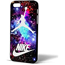 Jordan Nebula Galaxy Nike Ball for Iphone Case (iPhone 5/5s black)