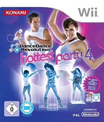 Dance Dance Revolution:  Hottest Party 4 inkl. Tanzmatte  (mit GameCube-Anschluss) (4 Gamecube Party)
