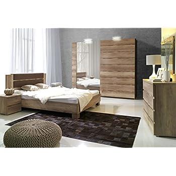 Schlafzimmer Schlafzimmermöbel Set Komplett Komplettset - Schlafzimmer komplett angebot