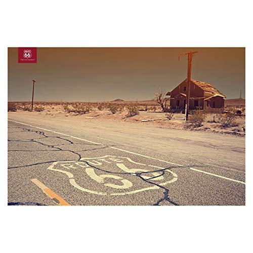 Wandbild Route 66