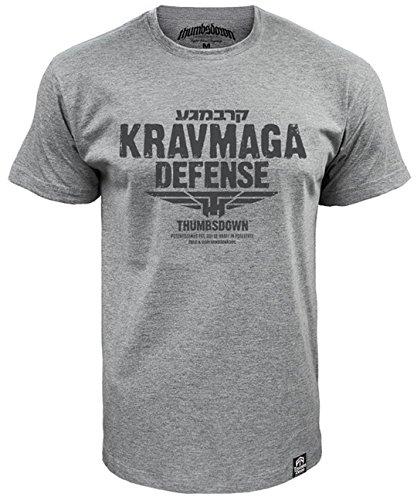 Krav Maga Defense T-shirt Thumbsdown Proud & Glory Athletic Dept. (Größe XXLarge) (Shirt Glory Herren)