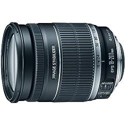 Canon EF-S 18-200 mm f/3.5-5.6 is Objectif Standard Zoom pour appareils Photo Reflex numériques Canon (certifié reconditionné)
