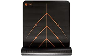 TEGO Stance Truly Reversible Mat with GuideAlign - 5mm Thick Comes with Mat Holder Bag