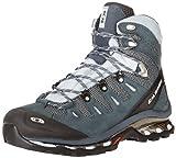 Salomon Quest 4D GTX, Damen Sportschuhe - Walking, Deep Blue/Cerulean/Grey Denim, 42 2/3 EU