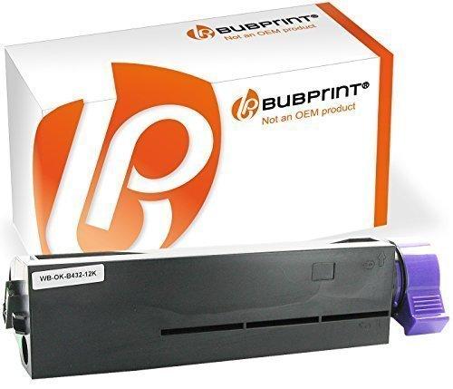 Bubprint Toner kompatibel für OKI B432 XXL schwarz (12000 S.) B432DN B512DN MB492DN MB562DNW 45807111