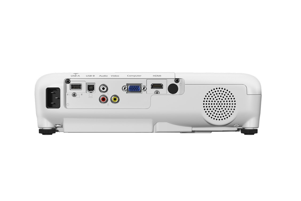51n7cmf4reL - Epson EB-S41 3LCD, 3300 Lumens, 300 Inch Display, SVGA Projector - White