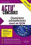Lire le livre Questions Européennes Cours QCM gratuit