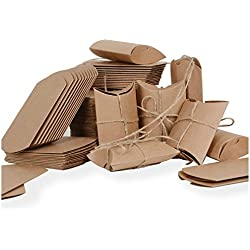 100 Cajas Papel Kraft Marrón
