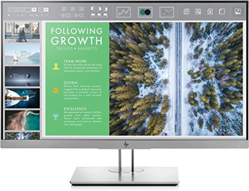 HP 1FH4700#ABB EliteDisplay E243-60,45 cm (23,8 Zoll) LED-Monitor mit IPS-Panel (Höhenverstellung, Pivot, DisplayPort, HDMI) - Led-monitor-panel