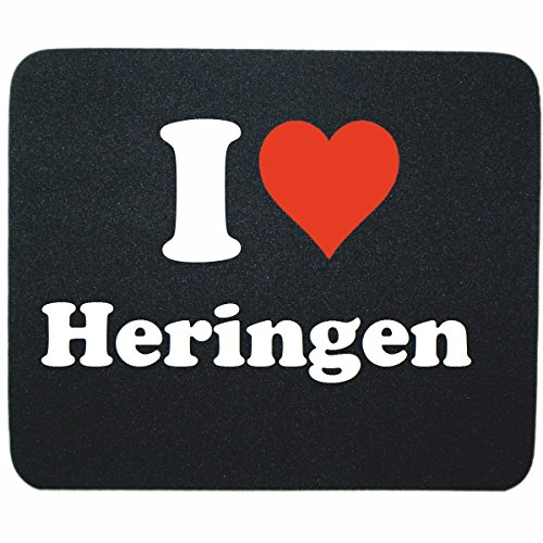 exclusive-gift-idea-mouse-pad-i-love-heringen-in-black-a-great-gift-that-comes-from-the-heart-non-sl