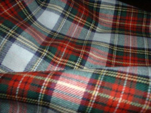 Stewart Modern, 100% gebürstete Baumwolle, weich, Karo-Stoff, 150 cm (149.86 cm breit, Meterware