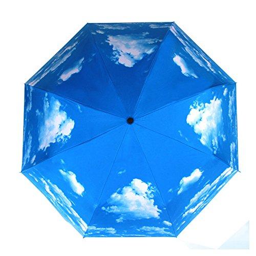 50-anti-ultravioleta-paraguas-de-proteccion-solar-cielo-azul-3-plegable-sombrillas-paraguas-de-lluvi