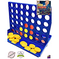 Dedimi 4 to Score Board Connect Game for Kids Classic Original Four in a Row Gaming Family Chess Games Set