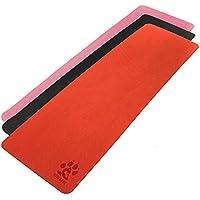 Yogi-bare - estera de la Yoga / Colchoneta de la Yoga 4mm - doble capa ecológico TPE con agujeros transpirable - antideslizante - estudio profesional de yoga mat