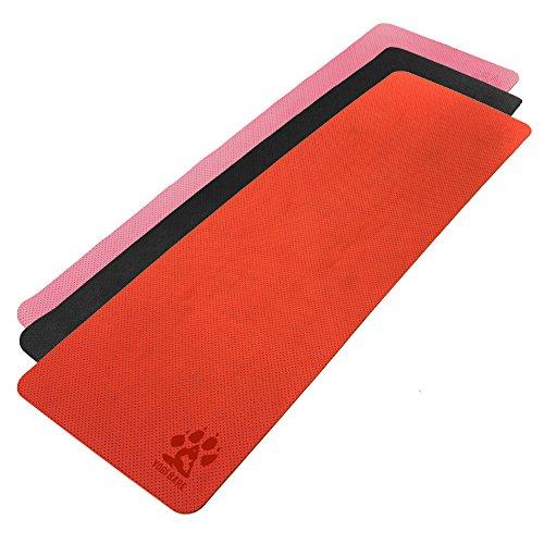 Yogi-bare - estera de la Yoga / Colchoneta de la Yoga 4mm...