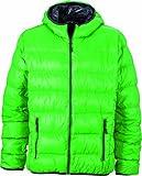 James & Nicholson Herren Jacke Jacke Men's Jacket grün (green/carbon) Large