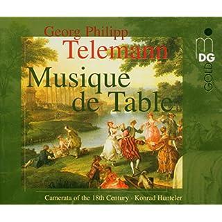 Telemann: Musique de Table / Tafelmusik Vol. 1-4