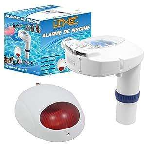linxor france alarme de piscine jb p 03 sir ne d port e piles fournies testeur chlore. Black Bedroom Furniture Sets. Home Design Ideas