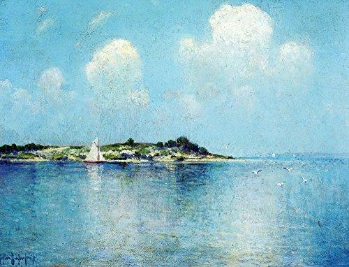 Das Museum Outlet-auf Long Island Sound in der Nähe von Shelter Island-poster (61x 81,3cm)