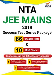 Disha Publication NTA JEE Mains 2019 Success Tests Series Package - 86 Chapter Tests and 10 Mock Tests (Email
