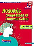 Activités comptables et commerciales 3e édition avec préparation au BEP MSA