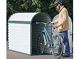 Fahrradgarage komplett BikeBox 3 82x140x205cm Fahrradständer Fahrrad