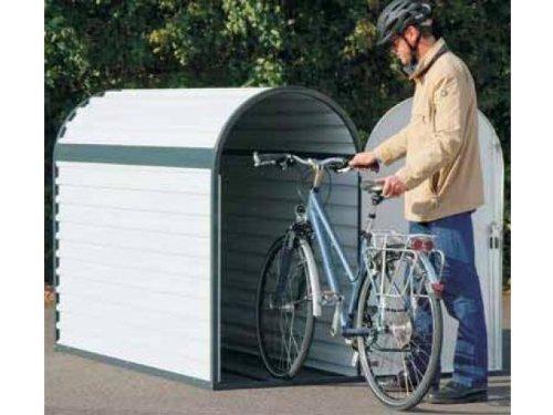 Preisvergleich Produktbild Fahrradgarage komplett BikeBox 3 82x140x205cm Fahrradständer Fahrrad