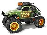 Maisto Tech R/C Desert Rebels VW Beetle ´51: Ferngesteuerter Geländewagen im Maßstab 1:10, mit Stollenreifen und Pistolengriff-Steuerung, 38 cm, grün (582075)