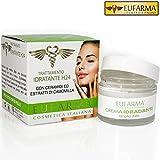 Eufarma Crema Viso Idratante Azione Aromaterapica Con Estratti Camomilla Ceramidi 50ml Made in Italy