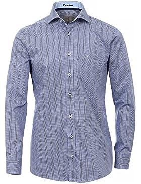 CASAMODA Herren Hemd extra kurze Ärmel, 58cm 100% Baumwolle - Comfort Fit