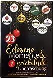 Erlesene Momente Premium Spirituosen Adventskalender (24 x 0,02-0,2l)